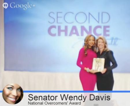 Wendy Davis Pat Smit Overcomers awards Jan 2014 3