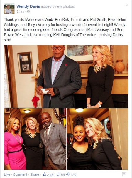 Wendy Davis The Voice Kelli Douglas