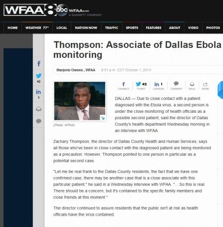 WFAA Ebola