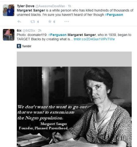 Ferguson Margaret Sanger