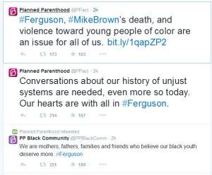 PP Ferguson tweets
