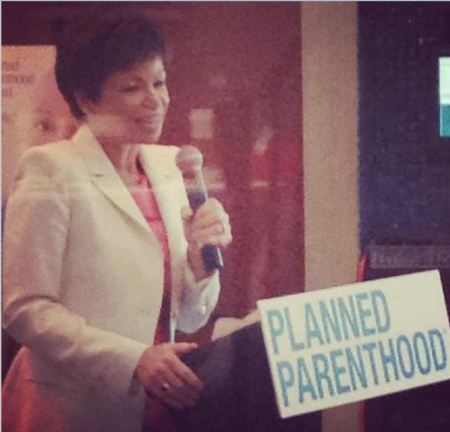 Valerue Jarrett speaking to PP 2