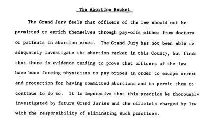 Abortion Racket