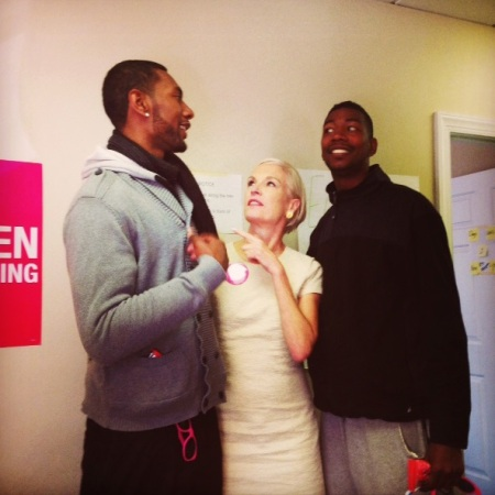 Cecile ARichards and Black men 2014