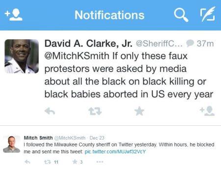 David A Clark abortion tweet