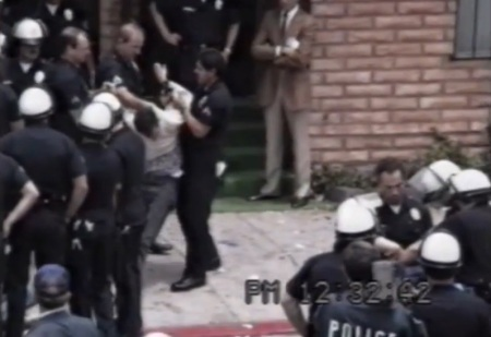 Police abuse prolife protester 10