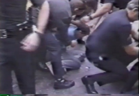 Police abuse prolife protester 11