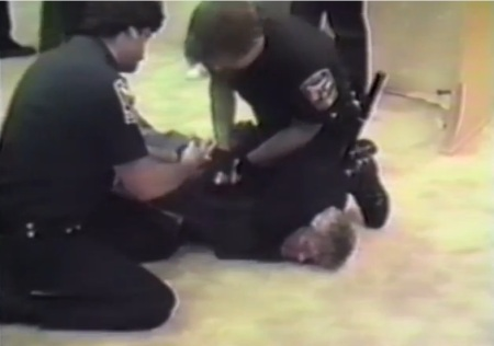 Police abuse prolife protester 15