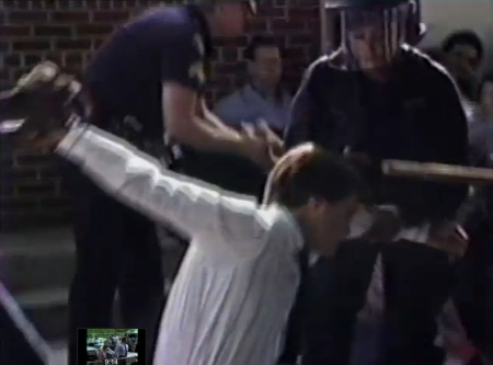 Police abuse prolife protester2