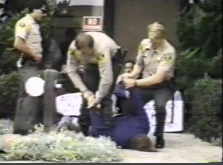 Police abuse prolife protester3