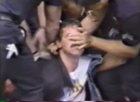 Police abuse prolife protesterb