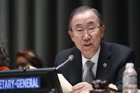 UN sec Ban Ki Moon