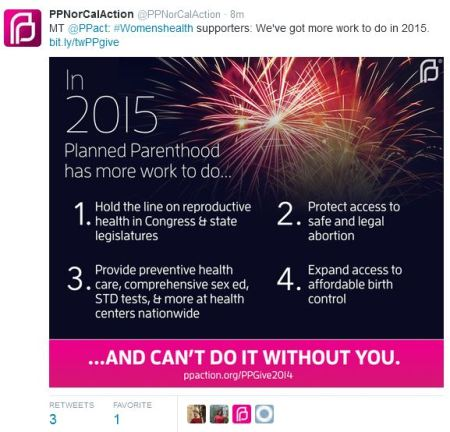 Planned Parenthood protect abortion 2015