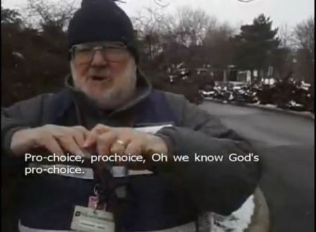 PP Security Guard God prochoice