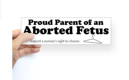 Proud Parent Aborted Fetus