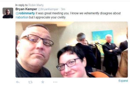 Robin Marty meets Bryan Kemper