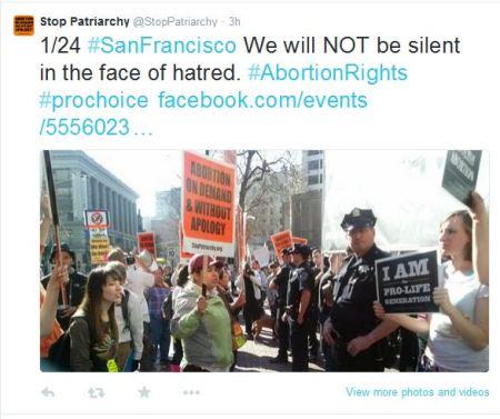 SF STop Patriarchy