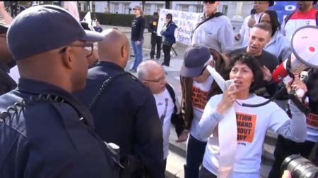 Stop Patriarchy Oakland police