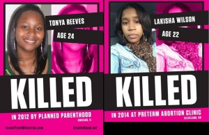 Tonya and Lakisha abortion deaths