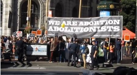 We are Ab Abolitionists Stop Patriarchy Walk for Life