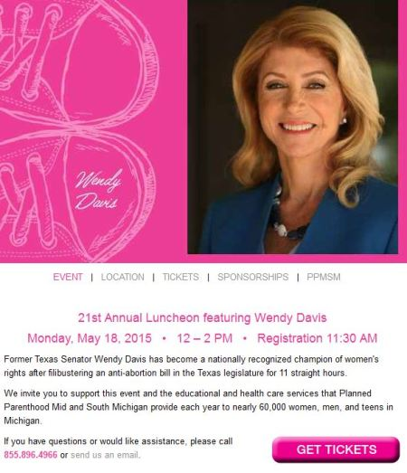 Wendy Davis PP Mi May 2015