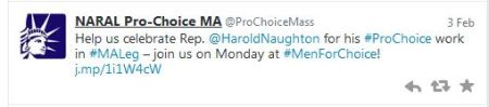 NARAL Men for Choice
