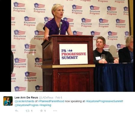 Cecile RIchards Progressive SUmmit 2015