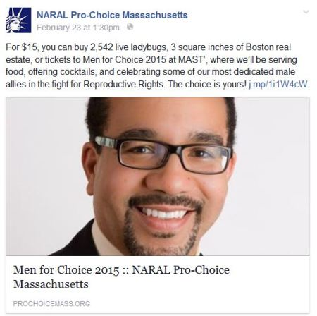 NARAL Ma Men for Choice 2015