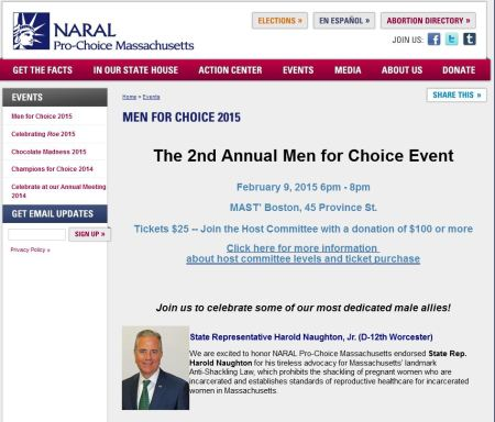 NARAL Mass Men for Choice
