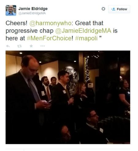 NARAL Men for Choice Jamie Eldridge 2