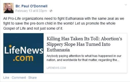 Paul Odonnell Euthenasia