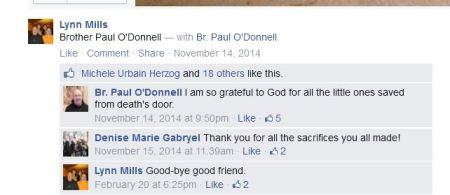 Paul ODonnell Lynn Mills