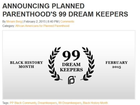 Planned Parenthood Dreamers