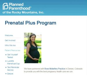 PLanned Parenthood prenatal