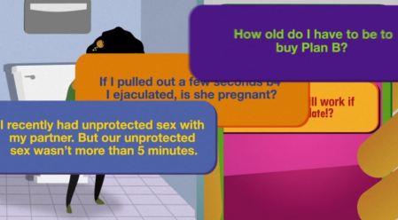 Planned Parenthood Sexting vid image Plan B