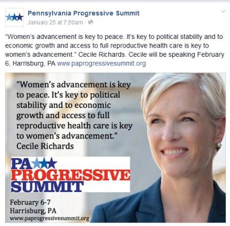 Progressive Summit Cecile Richards 2015