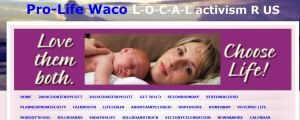 Prolife Waco Website