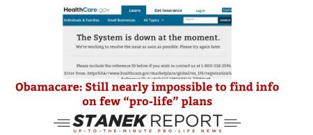 Stanek Report ObamaCare Jan 2015
