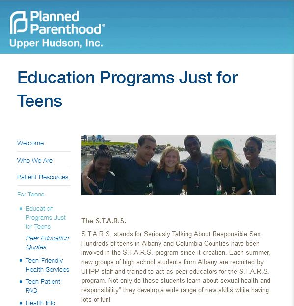 planned parenthood and teen awareness group tga essay Cbr's projects include the genocide awareness breitbart publishes cbr article defending carly fiorina's description of planned parenthood's baby body.