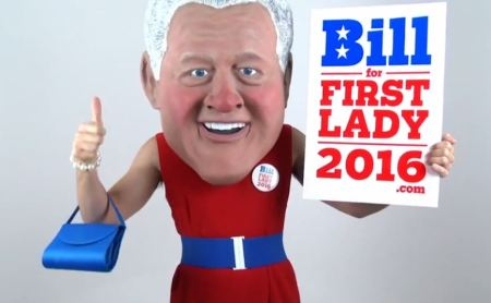 Bill for first lady hillary