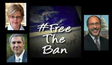 Free the Ban Jill Troy Pat