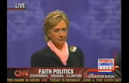 Hillary Clinton Faith Politcs Abortion