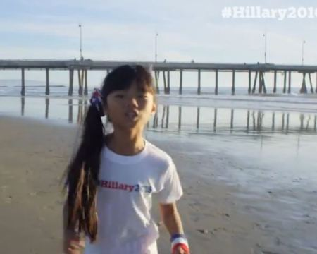 Hillary vid prochoice kid