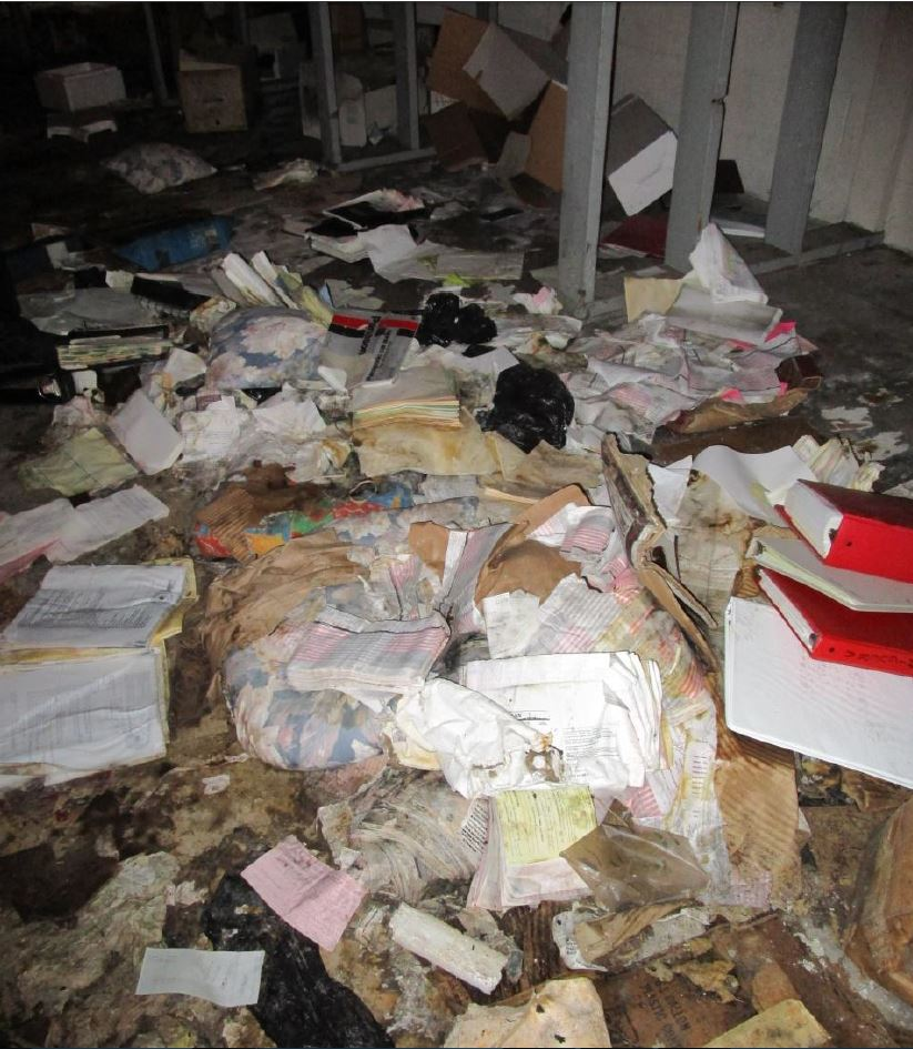 Improper Disposal Of Medical Records
