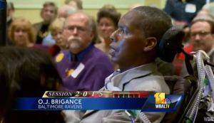 OJ Brigance Baltimore Ravens opposes Right to Die