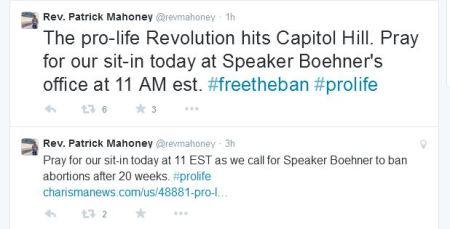 Pat Mahoney Tweet Free the ban 23