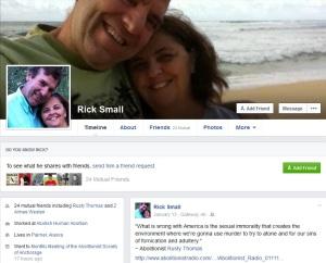 Rick Small Jill Stanek