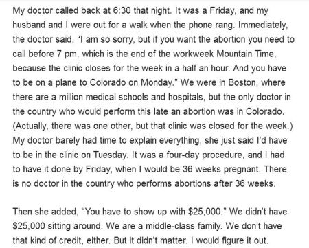 25K abortion