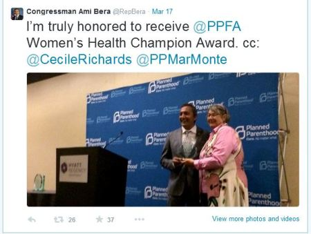 Ami Bera Planned Parenthood