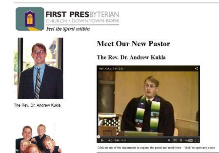 Andrew Kukla Presbyterian Pastor